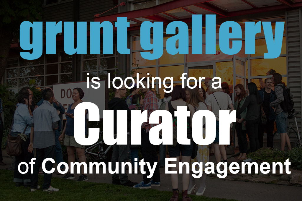 job posting curator of community engagement