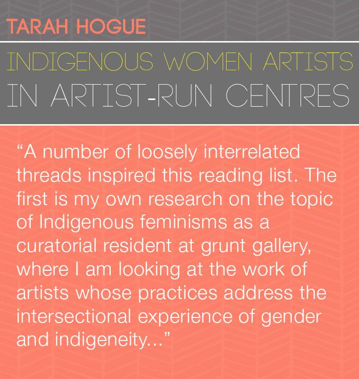 Tarah Hogue Reading List